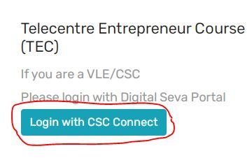 Tec Exam Registration csc